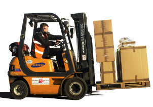 Same day pallet delivery or next day pallet network services