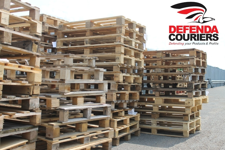 Used Wooden Pallets For Sale From Courier & Light Haulage ...