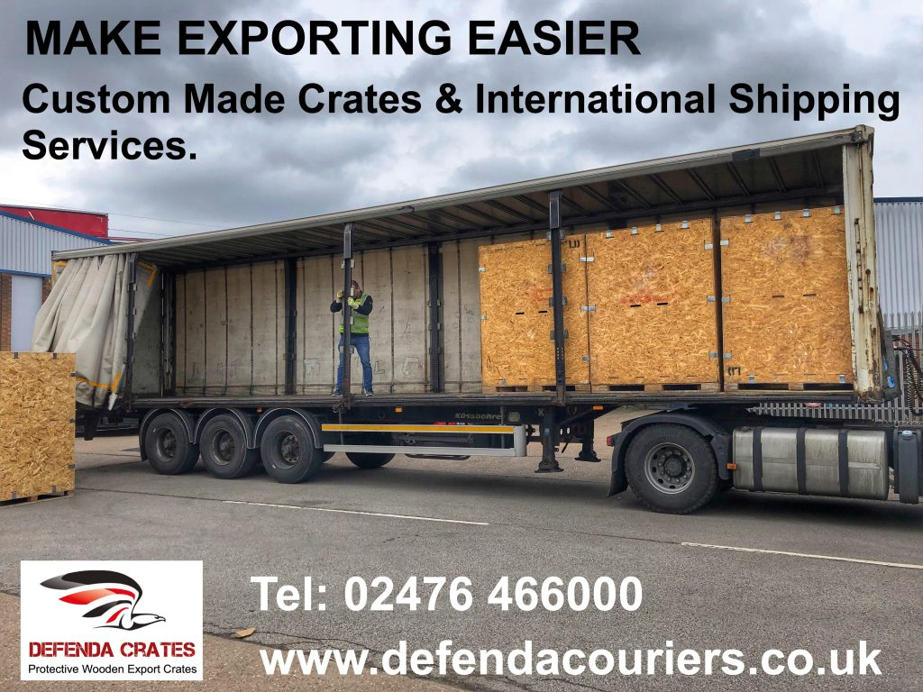 Shipping crates & cases ISPM15 certified compliant