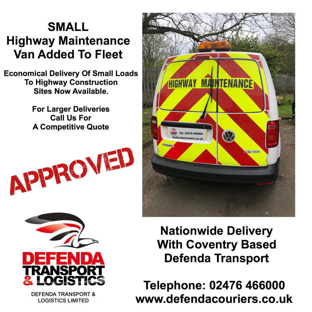 Chapter 8 compliant small Highway Maintenance Van